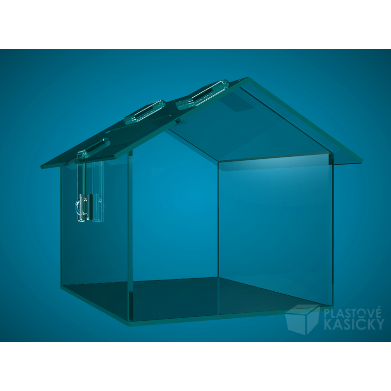 dome kov ir 250 x 200 x 200 mm s p esahem plastov kasi ky. Black Bedroom Furniture Sets. Home Design Ideas