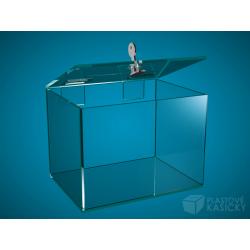 Plastová kasička 200 x 150 x 150 mm