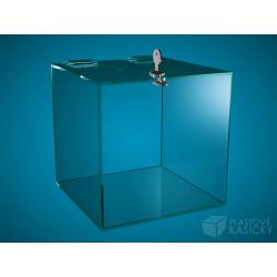 Plastová kasička 200 x 200 x 200 mm