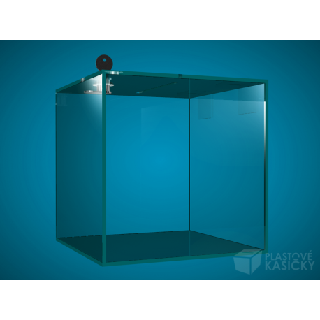Plastová kasička 250 x 250 x 250mm
